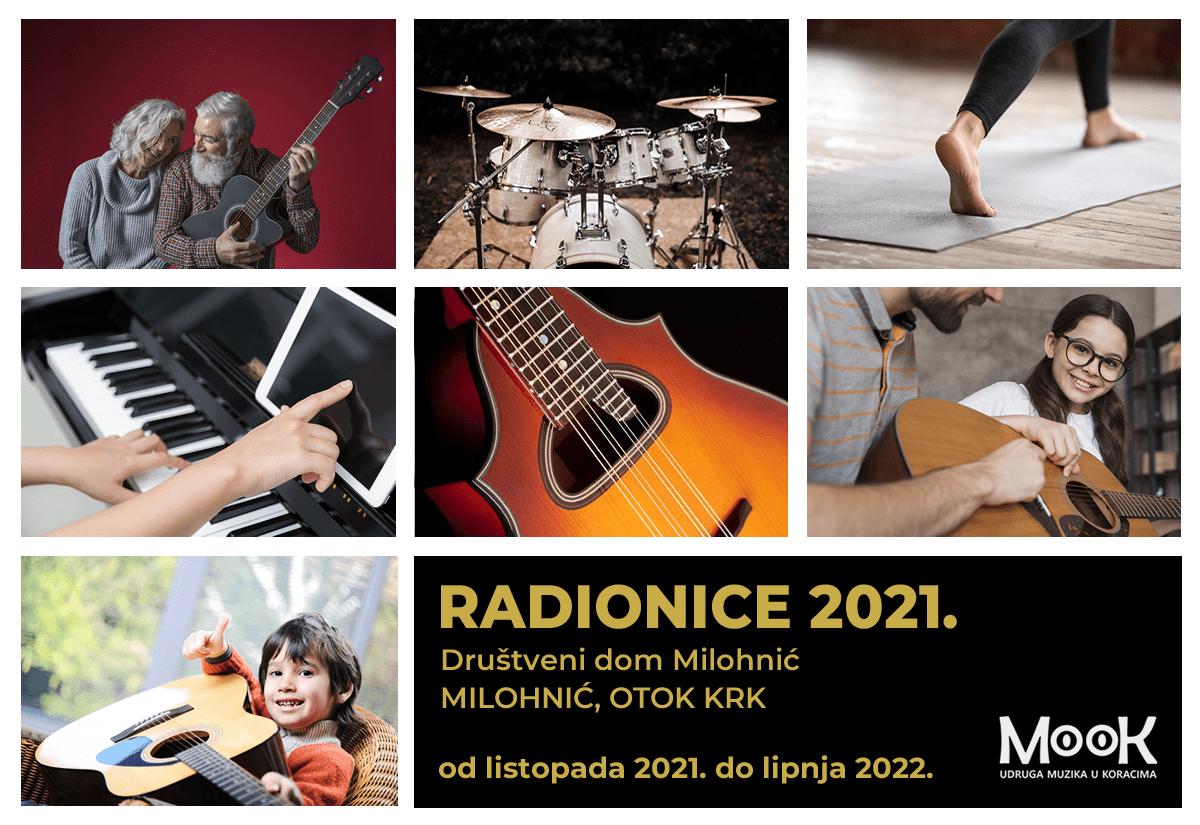 Radionice 2021. / 2022. - Udruga MooK, Otok Krk